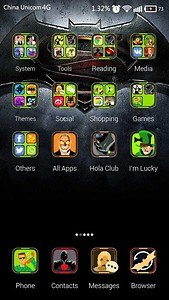 The Dark Hero Hola Theme
