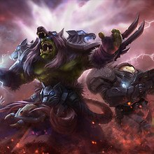 Starcraft Warcraft Art