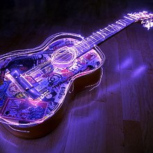 Electric Light Guitar