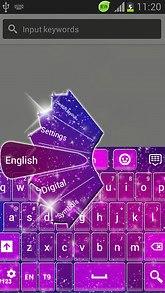 Glitter Keyboard Free