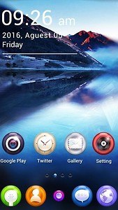 Clear GO Launcher Theme