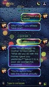 (FREE) GO SMS LUMINOUS THEME