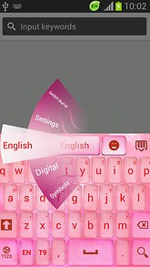 Pink Special Keyboard