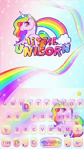 Little Unicorn Kika Keyboard