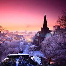 Beautiful City Winter