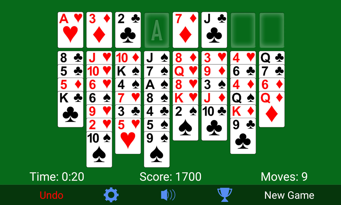 solitaire card game free cell  »  8 Photo »  Awesome ..!
