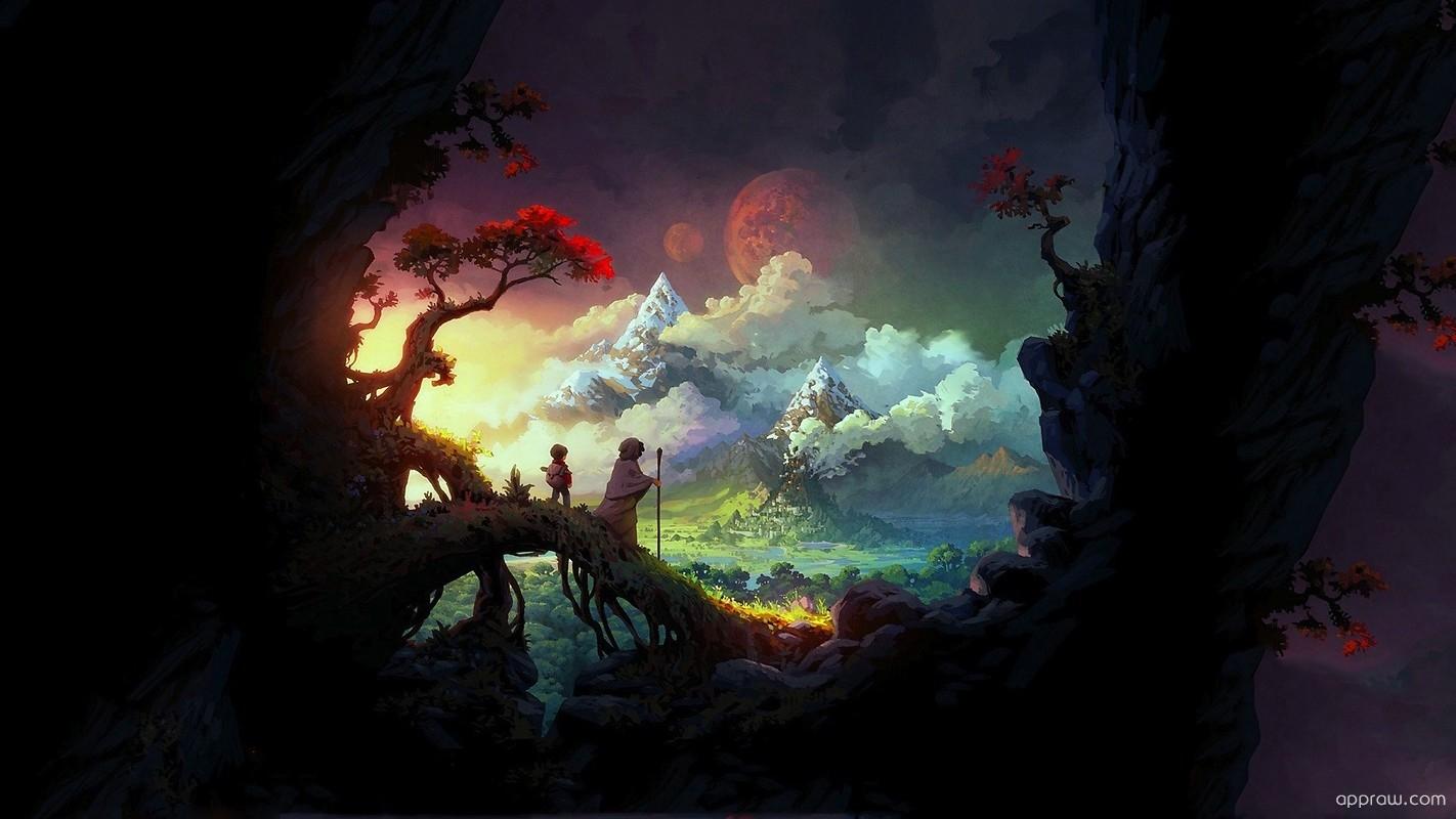 Magical Land Wallpaper Download