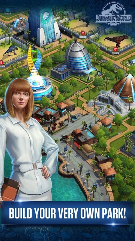 jurassic world™ the game apk free simulation android game
