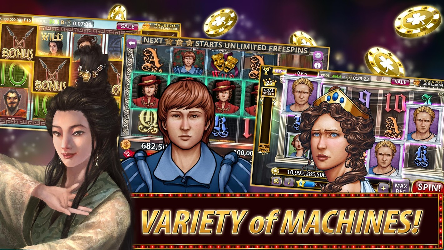 slot machine games free download for android