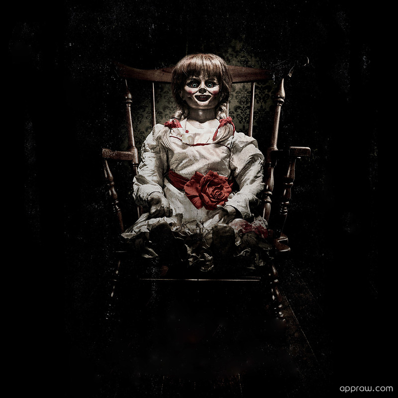 Scary Annabelle Doll Wallpaper Download