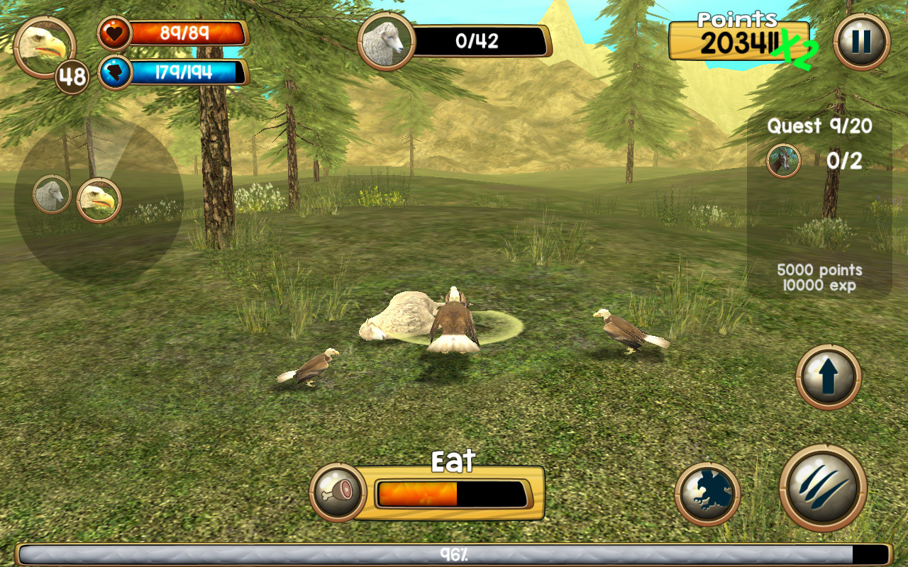 Download Games Ultimate Wolf Simulator ~ Object Data