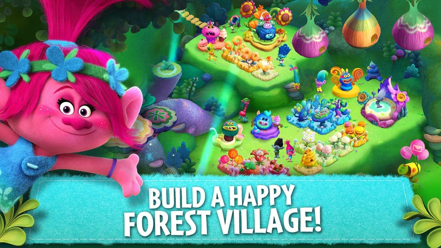 Trolls Crazy Party Forest Apk Free Arcade Android Game Download Appraw