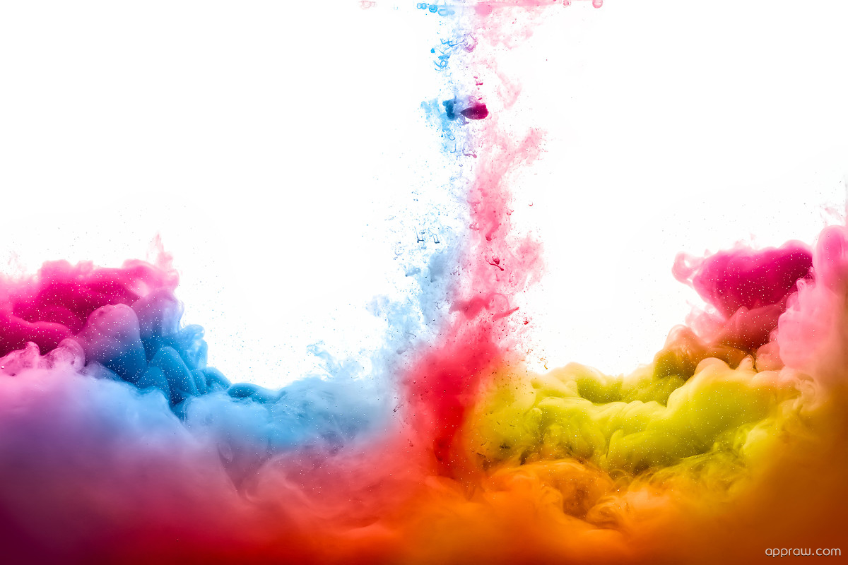 Abstract Smoke Wallpaper Download Colored Hd Wallpaper