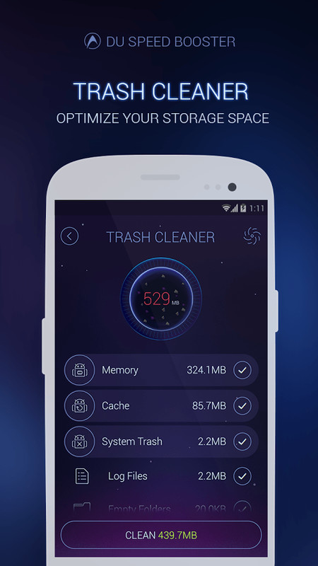 DU Speed Booster丨Cache Cleaner APK Free Tools Android App ...
