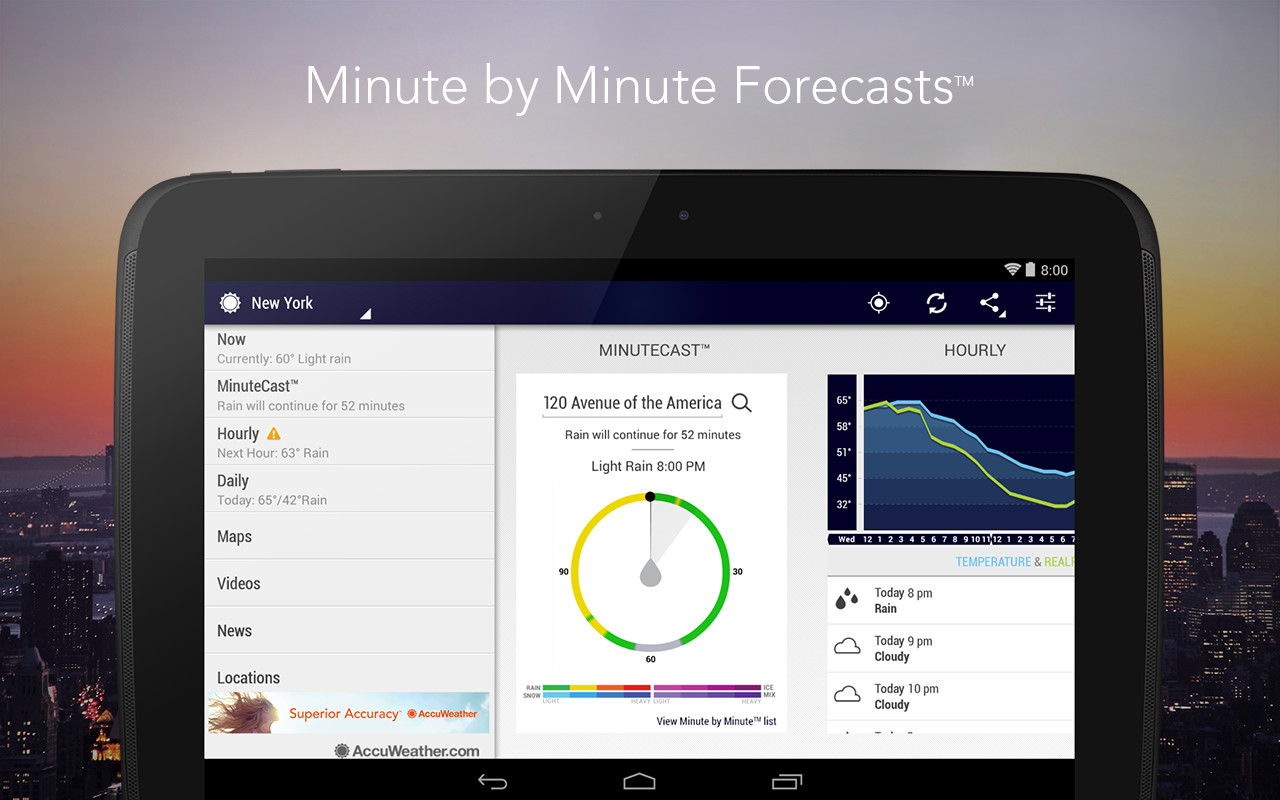 accuweather apk free weather android app download