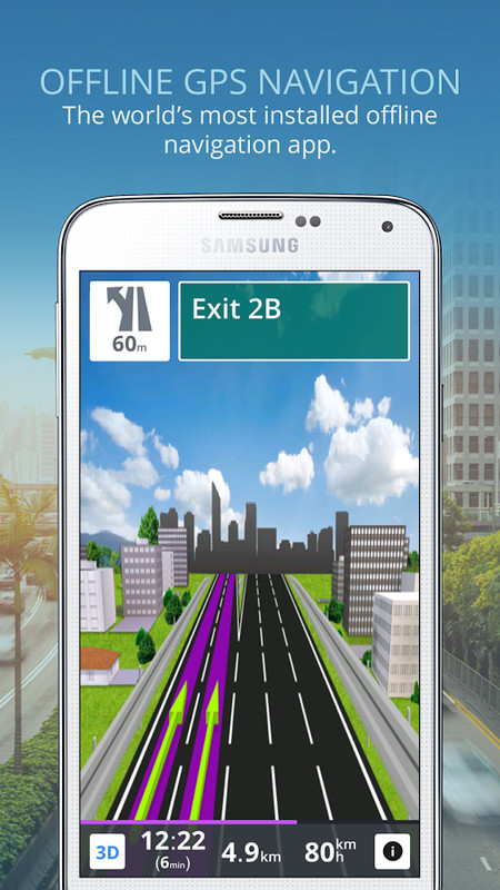 free sygic gps navigation offline for android