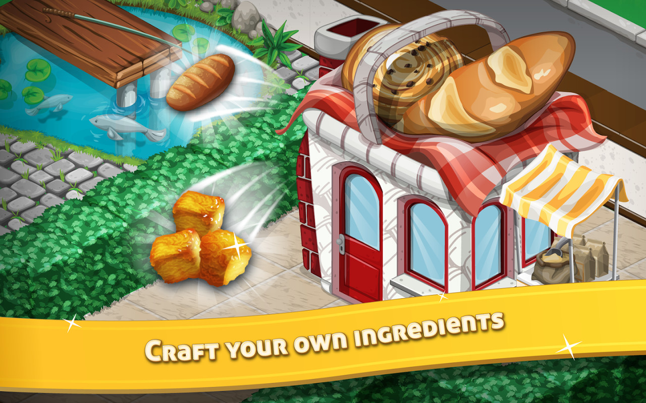 Chef Town: Cook, Farm & Expand APK Free Casual Android Game