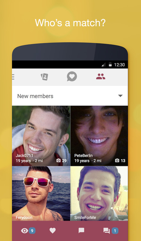 Flirt chat and dating jaumo apk