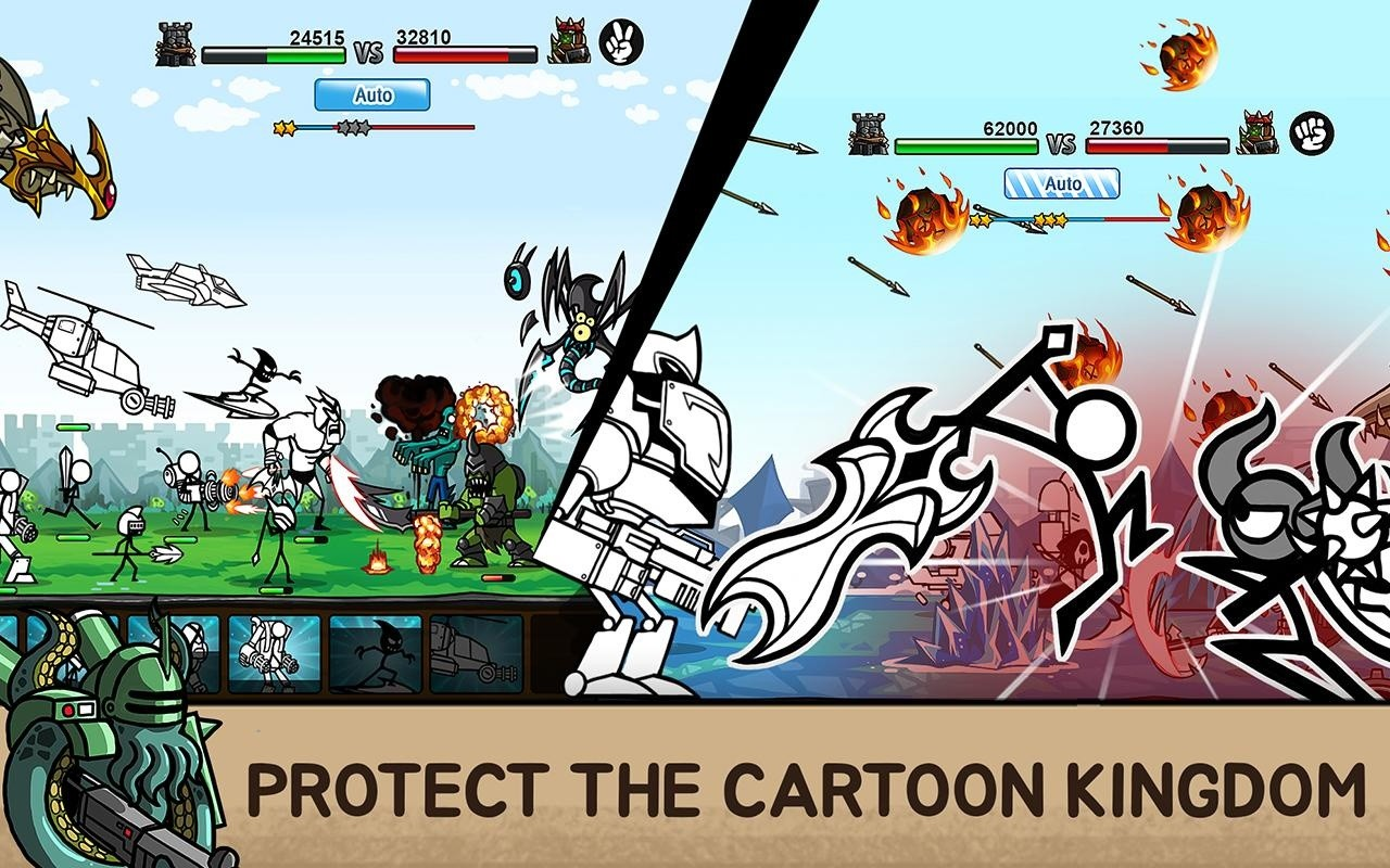 Cartoon Wars 2 Android Cheats - YouTube