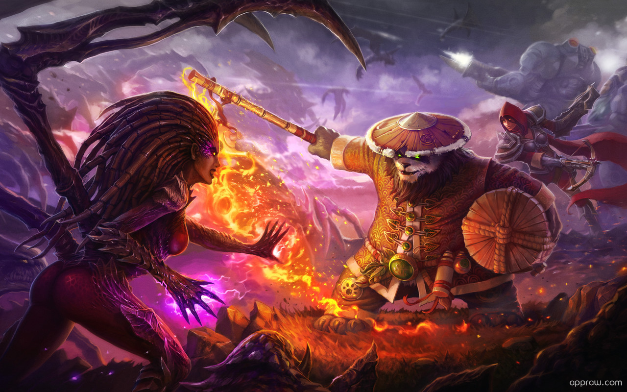 Warcraft heroes of the storm wallpaper download warcraft - Heroes of the storm phone wallpaper ...