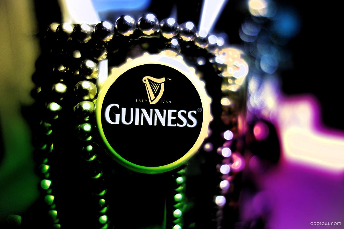 Guinness Logo Wallpape...