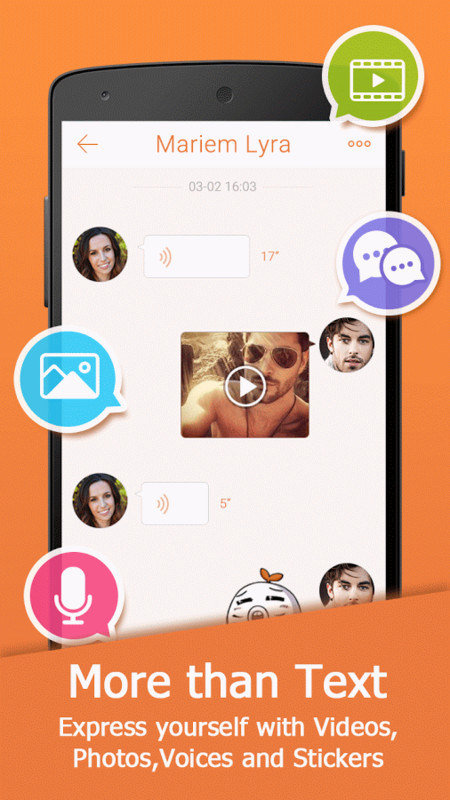 Mico chat app