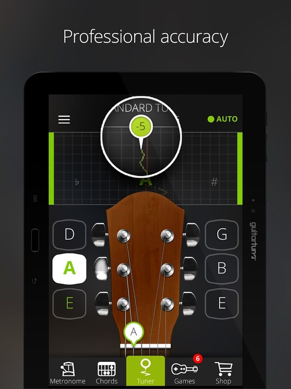 guitar tuner free guitartuna apk free tools android app download appraw. Black Bedroom Furniture Sets. Home Design Ideas