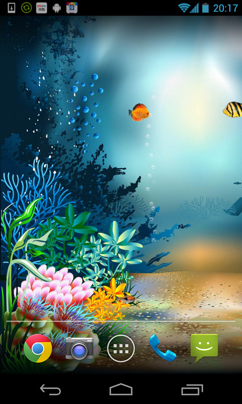 Underwater World Livewallpaper Free Android Live Wallpaper ...