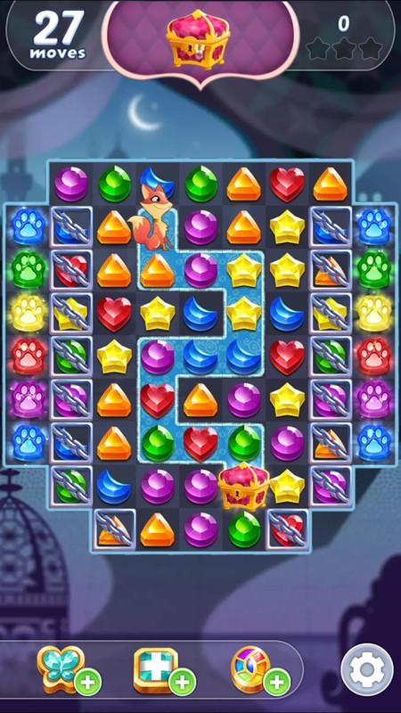 Genie Gems Game
