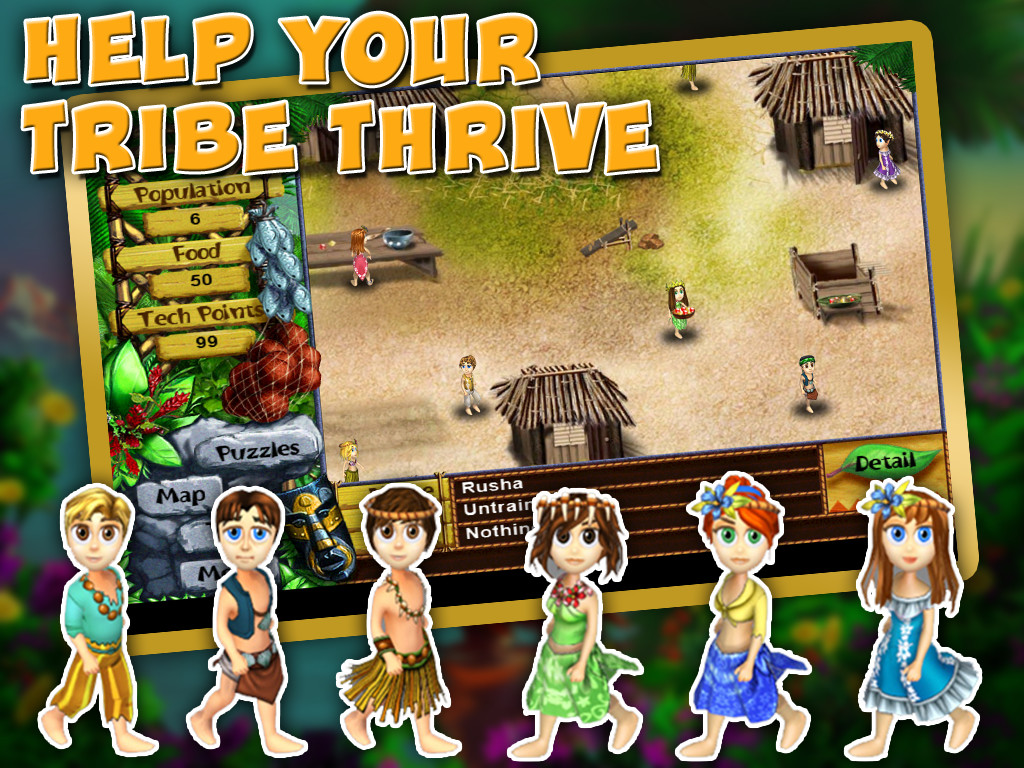 Virtual villagers origins apk free casual android game for Virtual home walkthrough