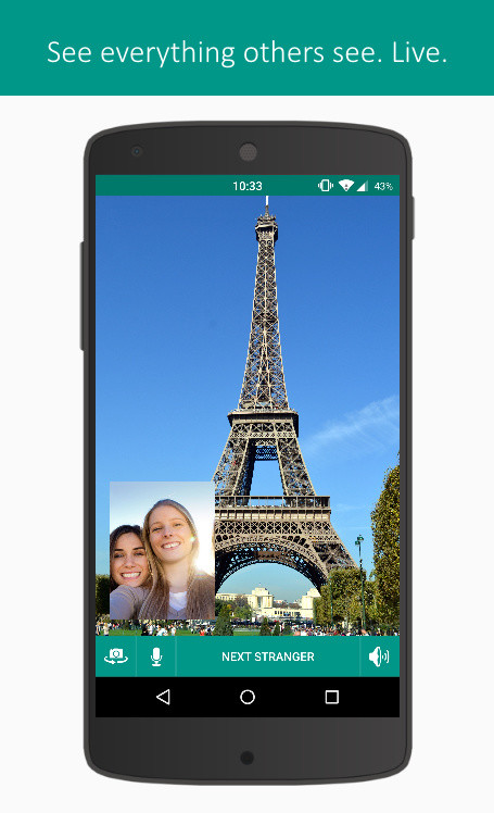 Strangers - Face-to-Face Chat APK Free Social Android App