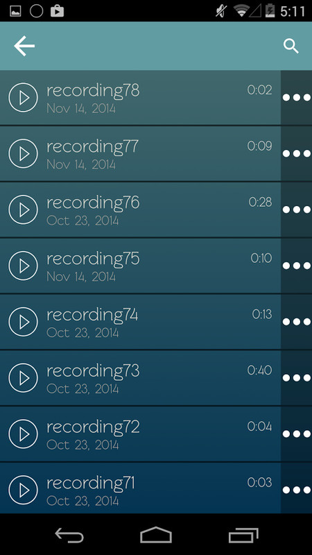 Voice Recorder APK Free Android App download