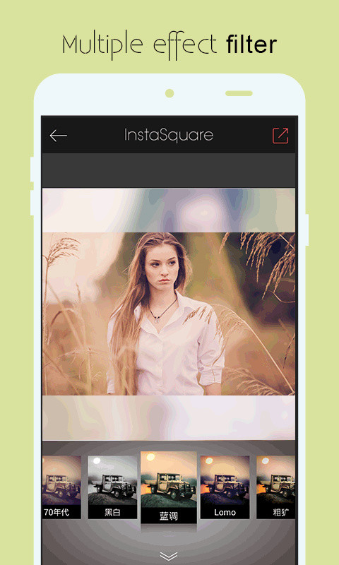 Insta square size pic grid APK Free Photography Android App