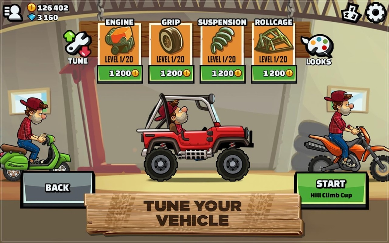 Hill Climb Racing For PC Windows (7, 8, 10, xp) Free Download