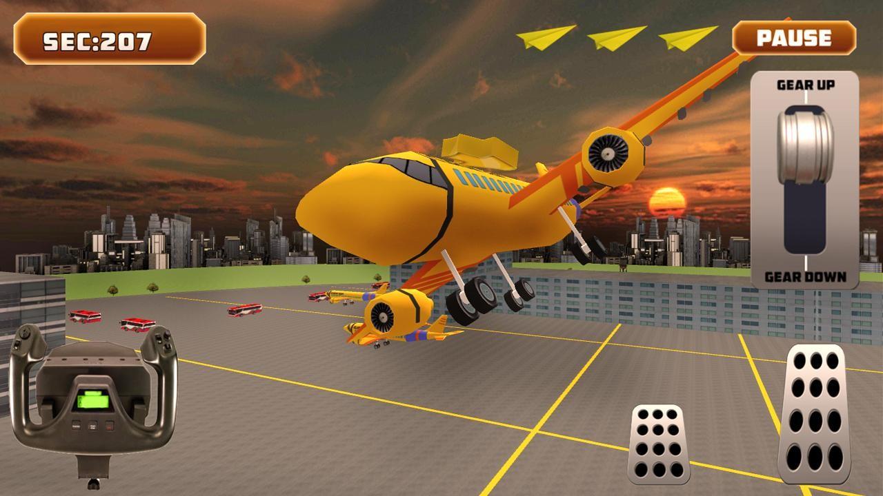 Flight Simulator 3D Apk Free Simulation Android Game -6745