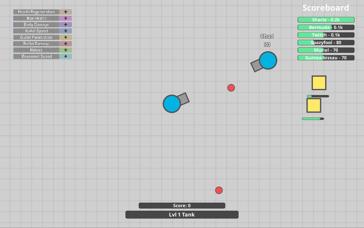 how to play with friends on diep io sandbox