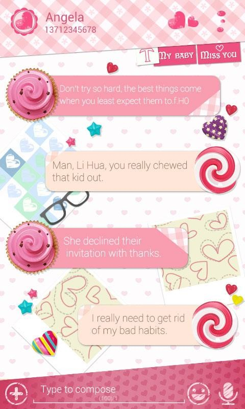 FREE) GO SMS LOVE YOU THEME Free Android Theme download - Appraw