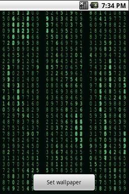 Matrix Stream Wallpaper Free Free Android Live Wallpaper ...