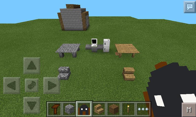 Pocket Decoration - Мод на Мебель в Minecraft PE
