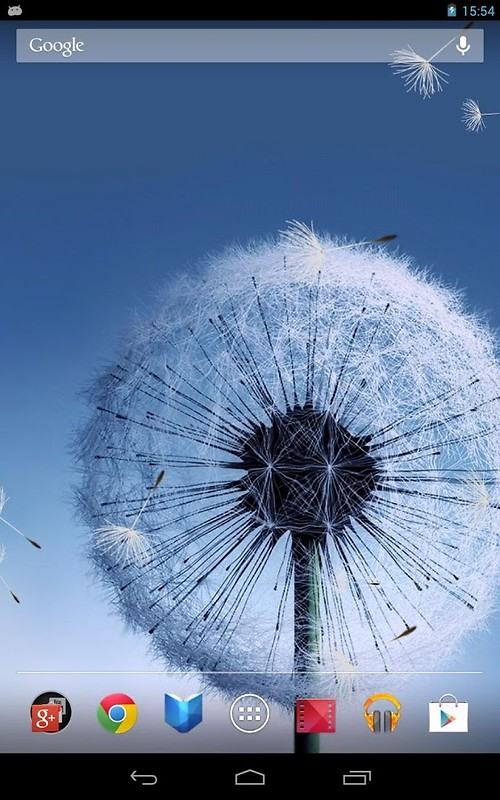 Dandelion live wallpaper free android live wallpaper for Wallpaper live home