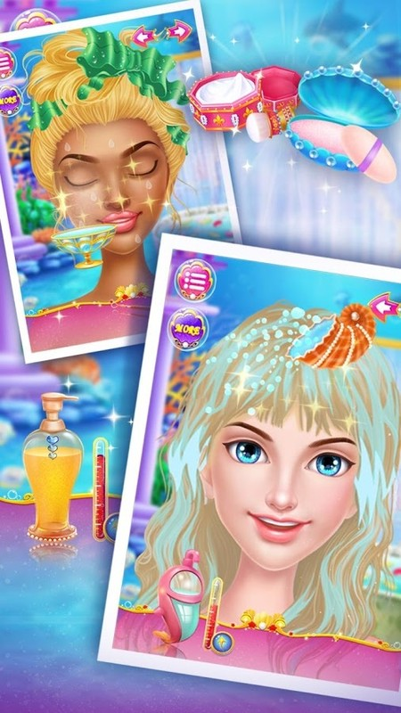 Mermaid Makeup Salon APK Free Casual Android Game download ...