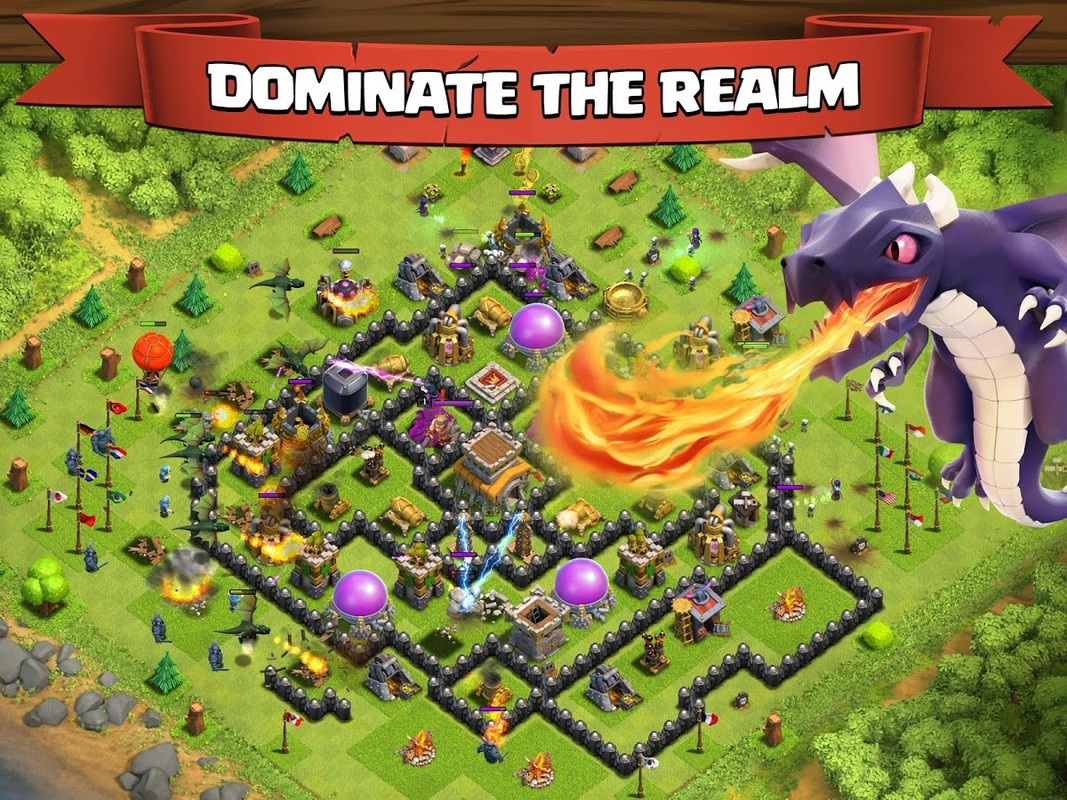clash of clans apk free strategy android game download