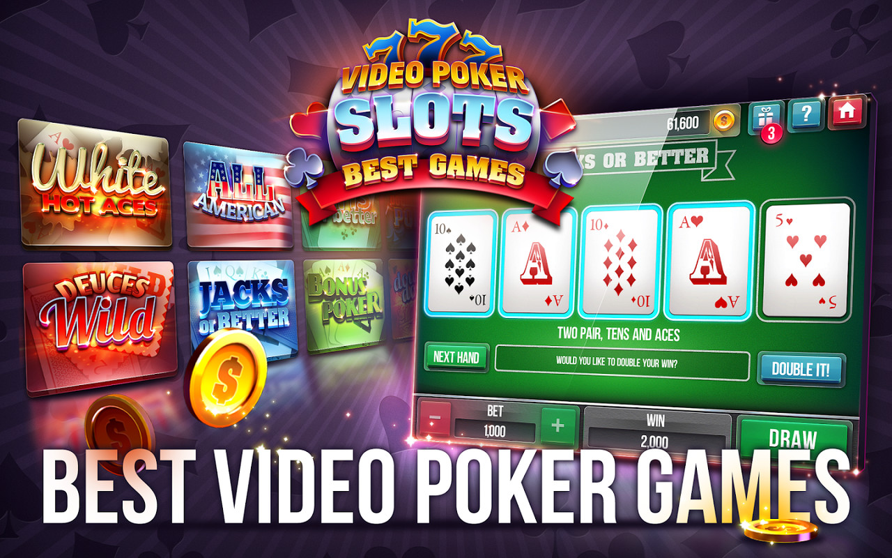 free slot video poker