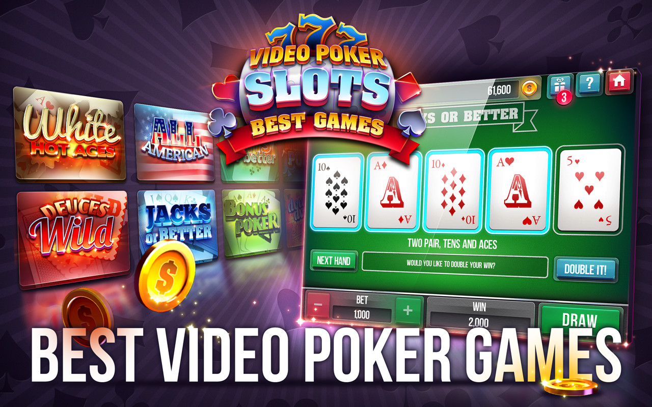 Poker video game