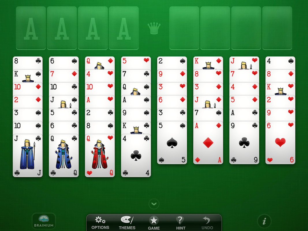 free freecell game for ipad