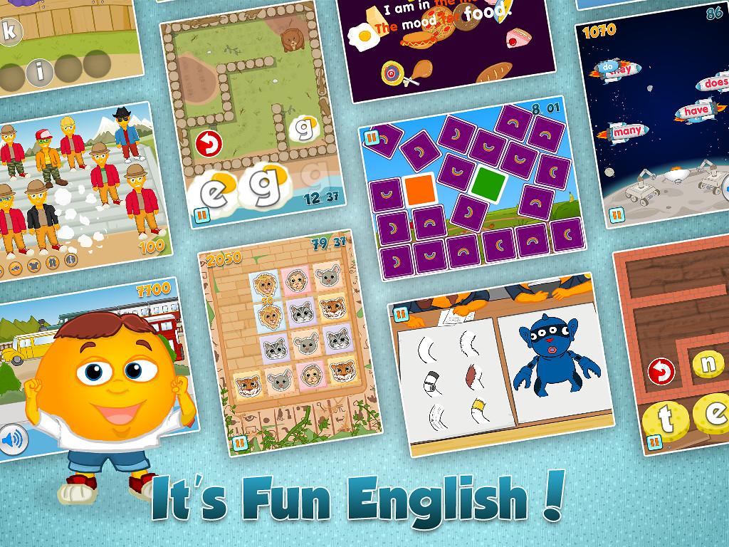 english fun games free download