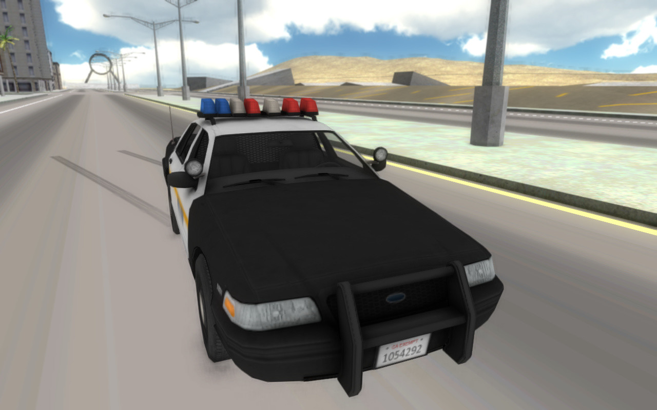 Fast Police Car Driving D Games