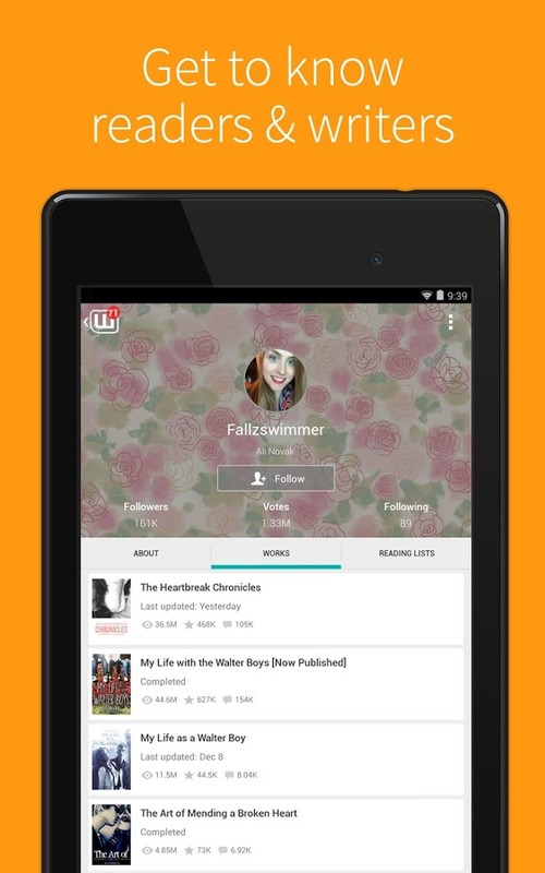 Wattpad - Free Books & Stories APK Free Android App download - Appraw