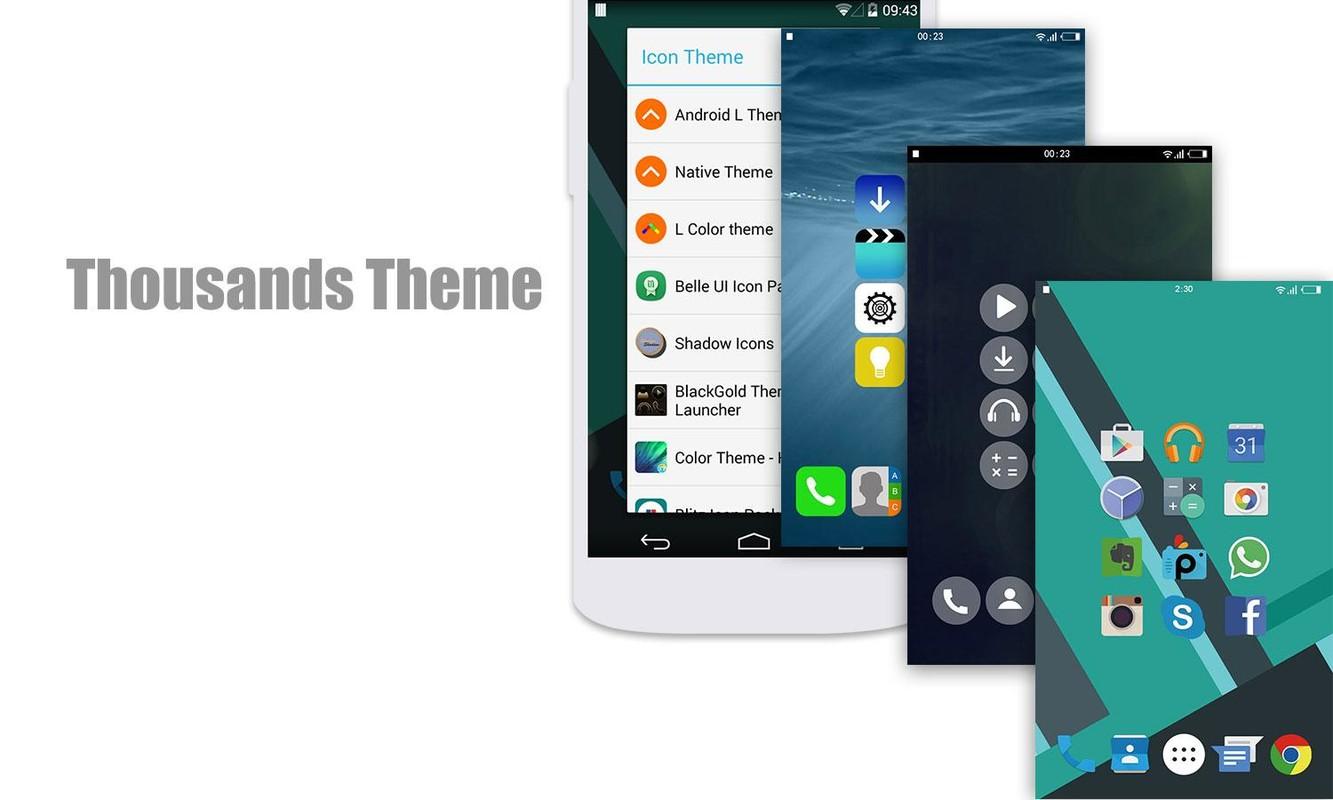 L Launcher - Lollipop Launcher APK Free Android App