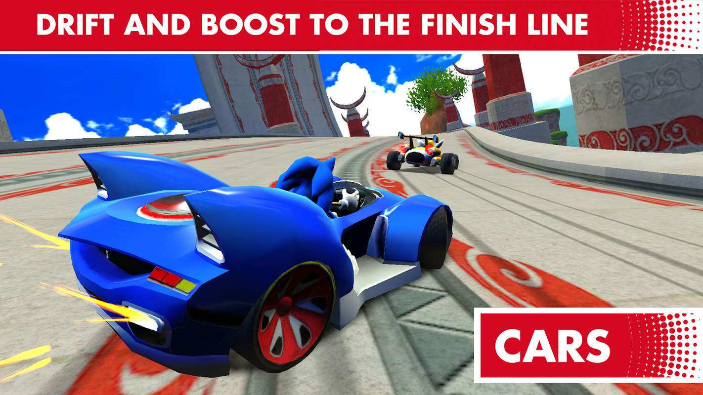 Sonic Racing Transformed Apk Free Racing Android Game -7066